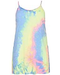 Samya Tie Dye Print Vest Top