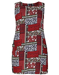 Samya Patterned Shift Dress