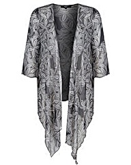 Koko Floral Waterfall Cardigan