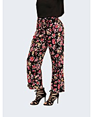 Koko Floral Palazzo Trousers
