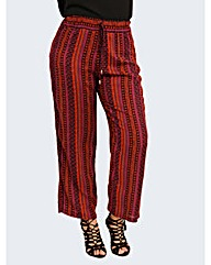 Koko Vertical Ditsy Palazzo Trousers