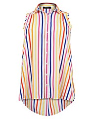 Koko Candy Stripe Sleeveless Shirt