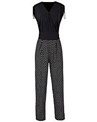 Grace Made in Britain polka jumpsuit