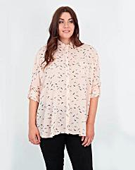 Koko Bird Print Shirt