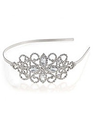 Mood Silver loop navette headband