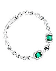 Jon Richard Green circle bracelet