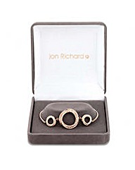 Jon Richard circle twist bracelet