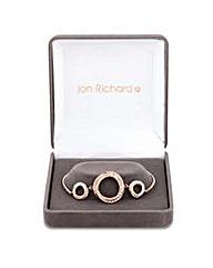Jon Richard circle twist bracelet