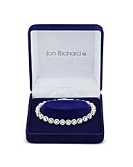 Jon Richard Silver circle bracelet