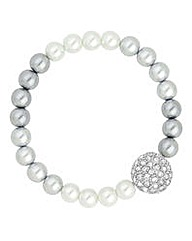 Jon Richard Grey ombre pearl bracelet