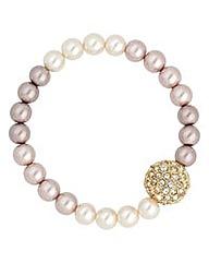 Jon Richard Mink ombre pearl bracelet