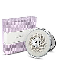 Jon Richard Diamante Compact Mirror