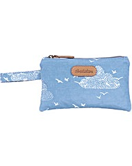 Brakeburn Birds & Clouds Flat Purse
