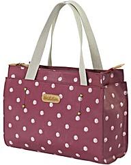 Brakeburn Polka Dot Pouch Hand Bag