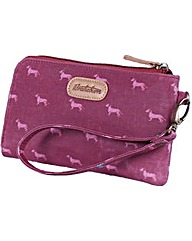 Brakeburn Sausage Dog Clutch Purse