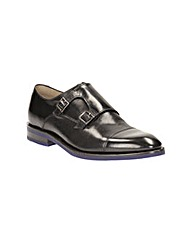 Clarks Swinley Monk Shoes