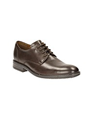 Clarks Truxton Plain Wide Fit