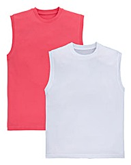 Southbay Pack of 2 Muscle T-Shirts