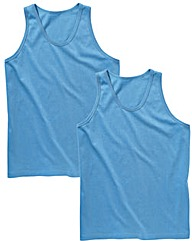 Premier Man Pack Of 2 Vests