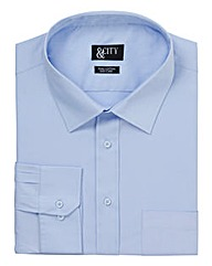 &City Tall 100% Cotton Tailor Fit Shirt