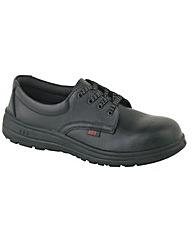 ABS Mens Black Tie Shoe