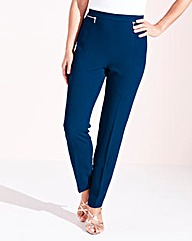 Crepe Classic-Leg Trousers 27in