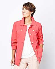 Microfibre Jacket with Pockets