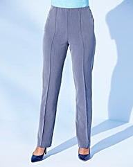 Pull-On Comfort-Fit Trousers Length 27in