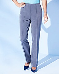 Pull-On Comfort-Fit Trousers Length 29in