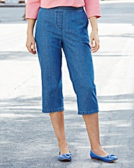 Crop Denim Trousers