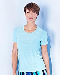 Textured Jersey Top