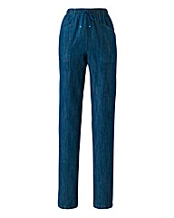 Comfort-Fit Jeans Length 27in