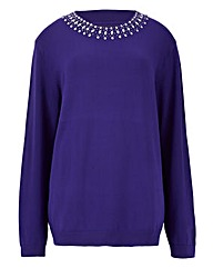 Jewel Neck Jumper