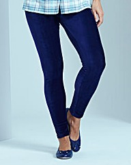 Corduroy Stretch Jersey Leggings