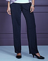 Classic-Leg Slinky Trousers Regular