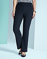 Jersey Ribbed Pull-On Trousers Regular
