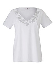 Cutwork Jersey Top
