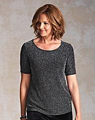 Glitter Jersey T Shirt