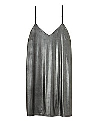 Metallic Cami Dress