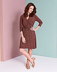 Deep Plunge Wrap Dress