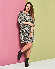 Animal Print Tunic Shift dress