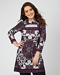 Joe Browns Purple Tunic Jumper
