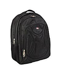 New Rebels Cross Large Nylon Backpack
