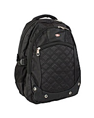 New Rebels Cross Large Nylon Backpack