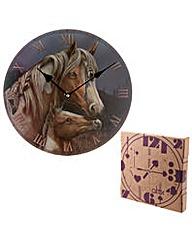 Decorative Wall Clock - Horse Design