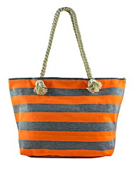 Thomas Calvi Striped Beach Bag