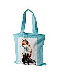 Sarah Stokes Fox Canvas Bag