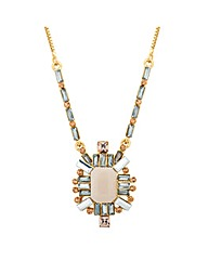 Jon Richard pastel geometric necklace