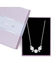 Jon Richard pearl crystal necklace