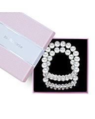 Jon Richard Pearl crystal bracelet